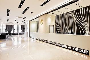 韩国丽珍整形医院大厅
