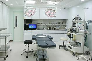 韩国江南三星整形外科医院手术室