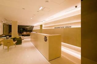 韩国博朗温整形外科医院大厅