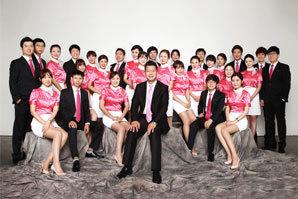 韩国总部团队合影