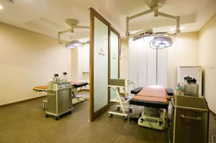 韩国博朗温整形外科医院手术室