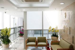 韩国Global整形医院休息区
