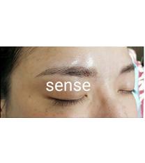 韩式半永久纹眉对比图