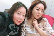 美护韩国护理师张娟整形进行时(三):手术后第一时间照片