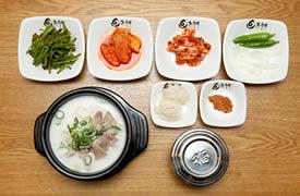 韩国特色猪肉汤饭,秋冬季必不可少的韩国美食!