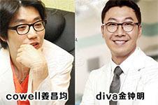 韩国做好看鼻子医生收录(十七):cowell姜昌均和diva金钟明