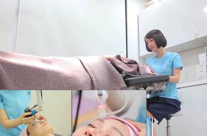韩国童颜医院皮肤管理项目实拍