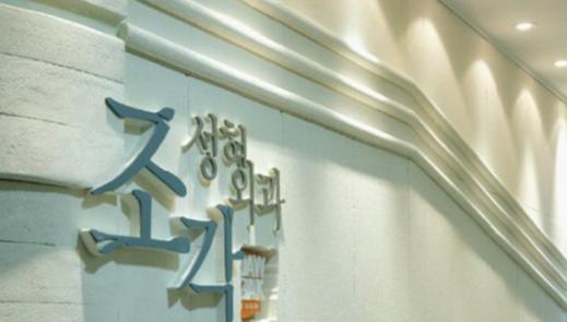 韩国雕刻医院logo墙展示