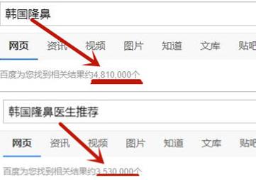 韩国隆鼻手术搜索展示图