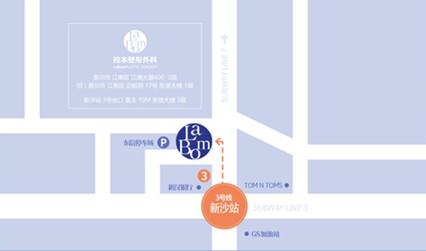韩国拉本医院路线图