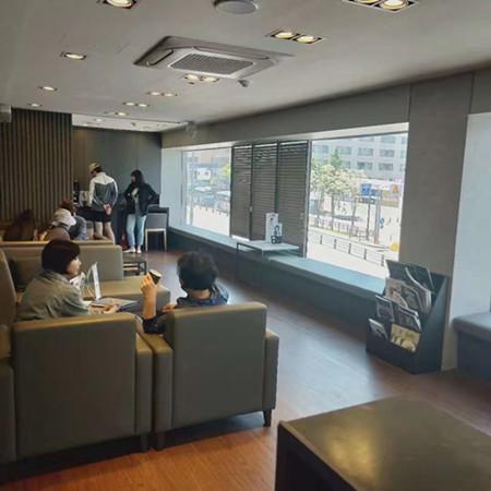 韩国拉本医院大厅