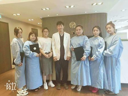 韩国拉本医院教学中