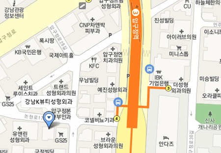 韩国K-beauty整形外科地图
