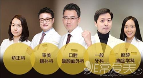 韩国齐娥牙科医疗团队