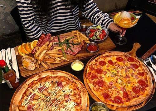 韩国釜山美食探店披萨