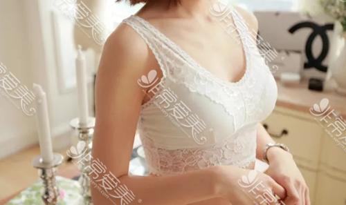 韩国爱我整形外科隆胸术后照片