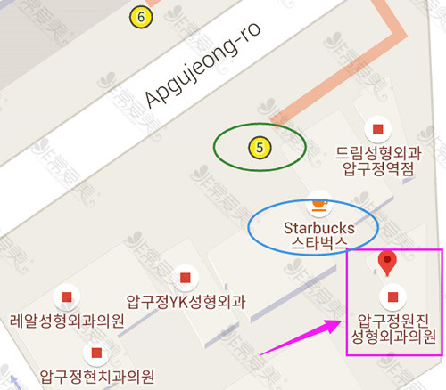 韩国富爱整形外科地址在哪里