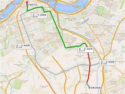韩国富爱整形医院公交路线怎么去