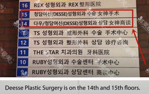 韩国女神整形外科地址
