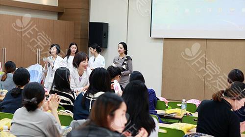 韩国爱丽美女性医院产后妈妈课程