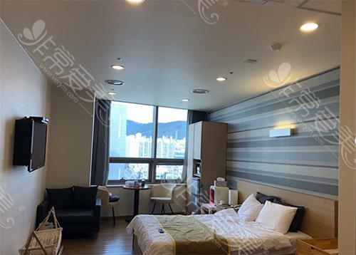 韩国爱丽美女性医院病房环境