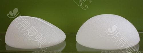 圆形假体和水滴形假体