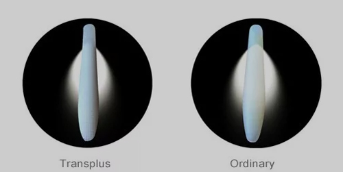 超体透光测试