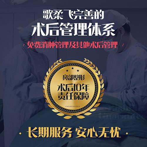 韩国歌柔飞医院鼻部整形宣传图