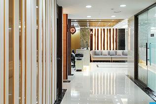 韩国枓翰整形外科医院走廊
