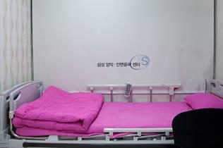 韩国江南三星整形外科医院休息室