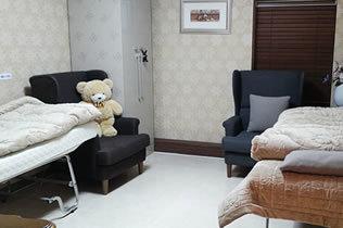 韩国枓翰整形外科医院休息室