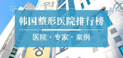 2016韩国整容医院排行榜
