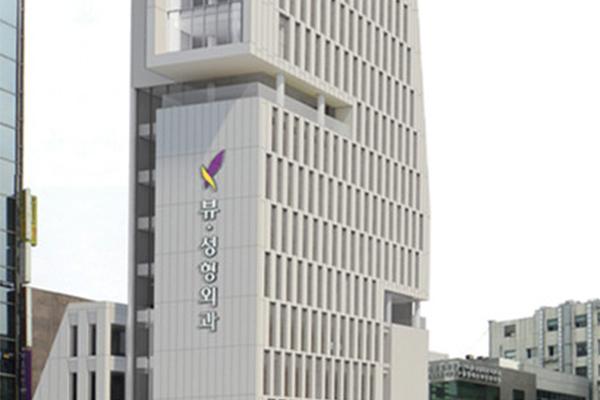 韩国必妩整形医院大楼环境图