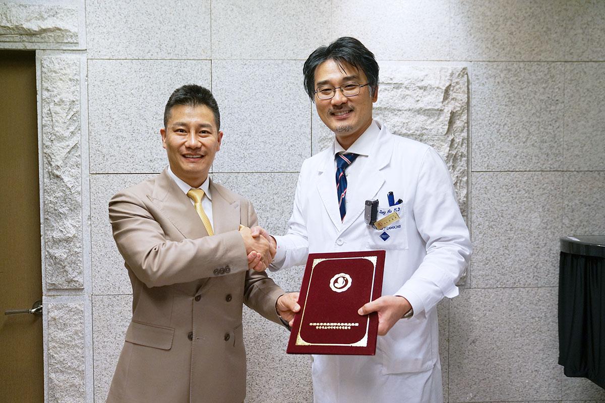 韩国然美之整形外科顺利签约!