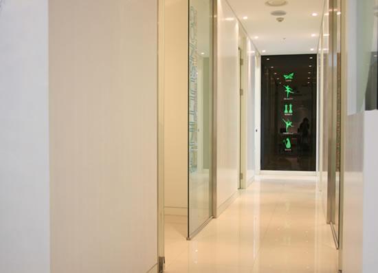 韩国如妍妇科医院走廊