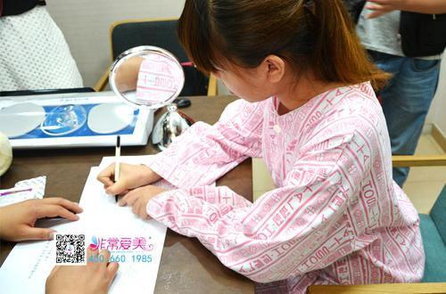 求美者在韩国正规整形医院签署协议