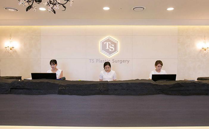 韩国TS医院前台照片