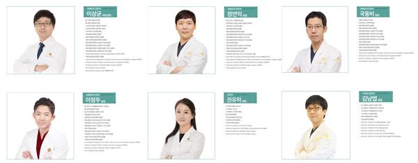 TS整形医院医生团队照片