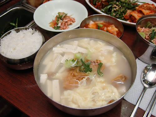 韩国明太鱼汤