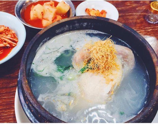 韩国参鸡汤推荐