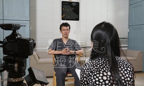 碧夏李珉奭院长访谈视频拍摄现场