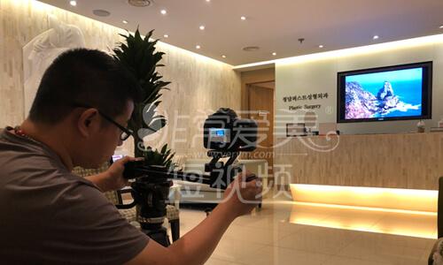 清潭第一成镇模访谈拍摄现场