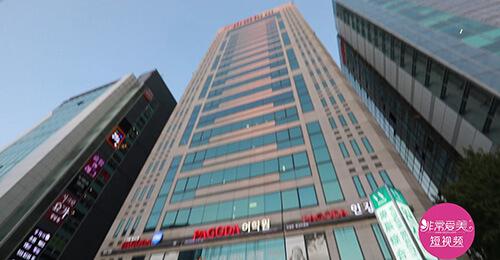 韩国原辰整形医院外景