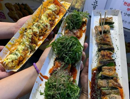 韩国特色街边小吃