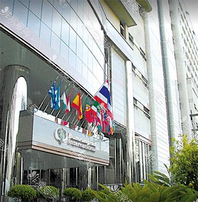 泰国康民医院大楼外观