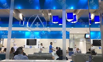 泰国ram医院大厅