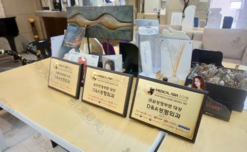 江南DNA整形外科金线提升获奖展示