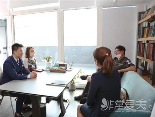 非常愛美網與韓國4月31日整形外科戰略簽約商談圖