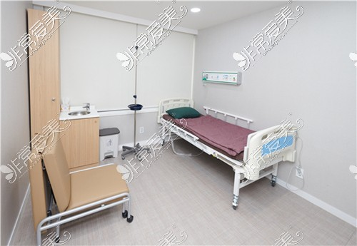 韩国首尔slim外科医院恢复室