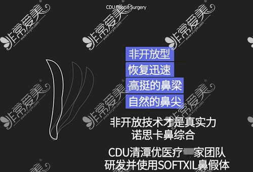 韩国CDU清潭优SOFTXIL高软硅胶鼻假体